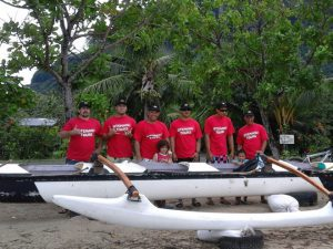 AGS Tahiti marines team