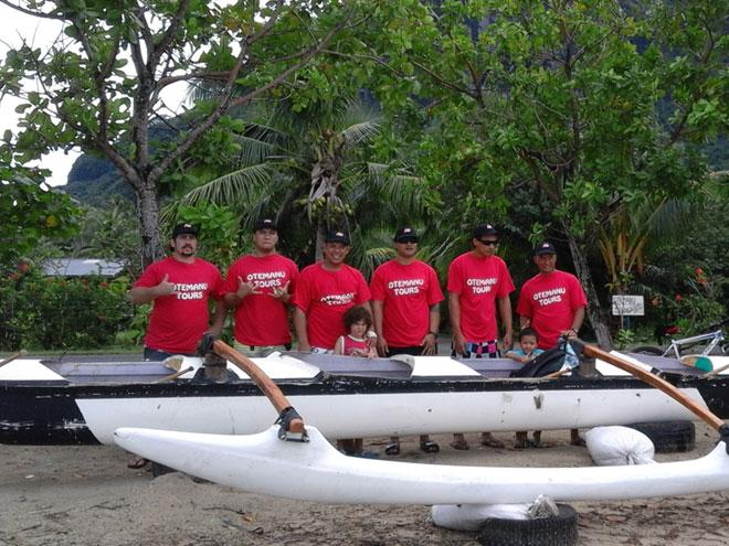 AGS Tahiti marines team