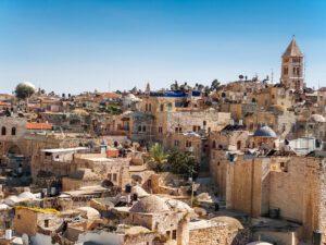 Old buildings in Jerusalem - Israel