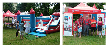 Inflatable castle AGS Budapest