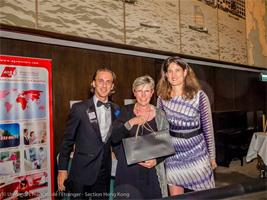 AGS staff at Hong Kong French Citizens abroad Gala