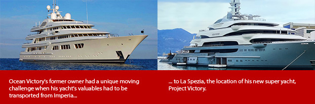 Upgrading Your Luxury Yacht Ags Can Help Ags International Movers