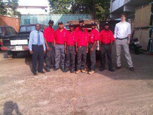 Sierra Leone AGS team