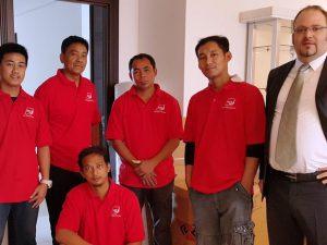 AGS Qatar staff