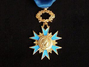 French Order of Merit Medal