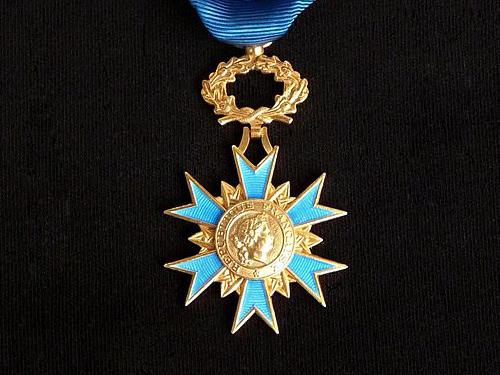 French Order of Merit Medal