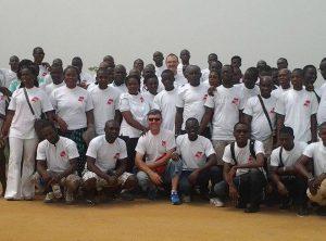 Staff of AGS Ivory Coast