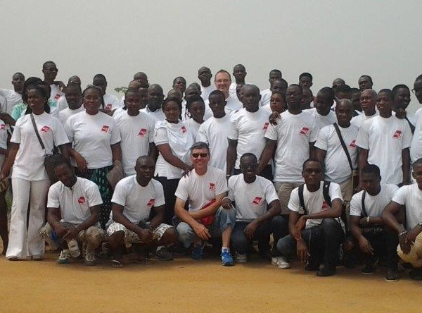 Staff of AGS Ivory Coast