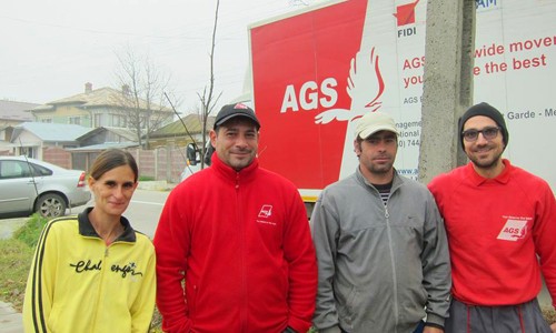ags movers romania