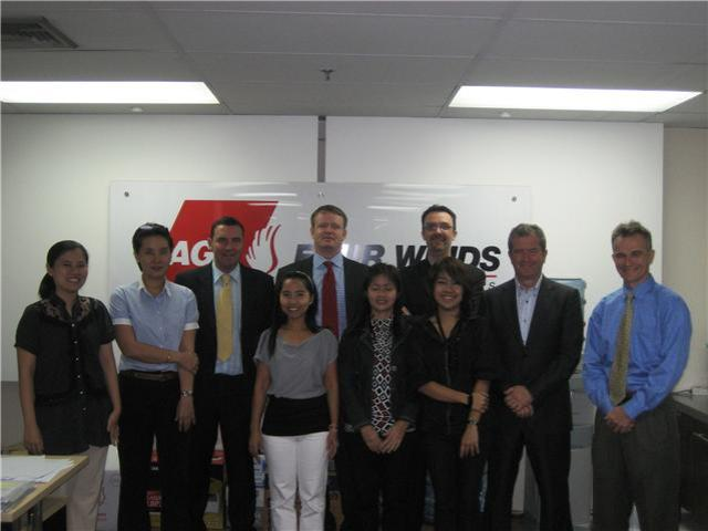 AGS Movers Thailand staff photo.