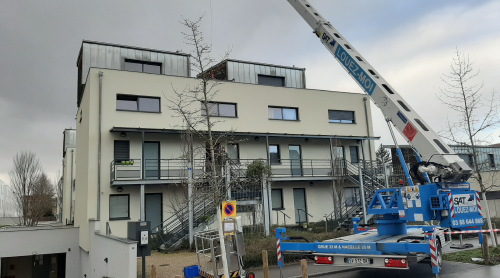 AGS Movers in Luxembourg-Metz busy with a move