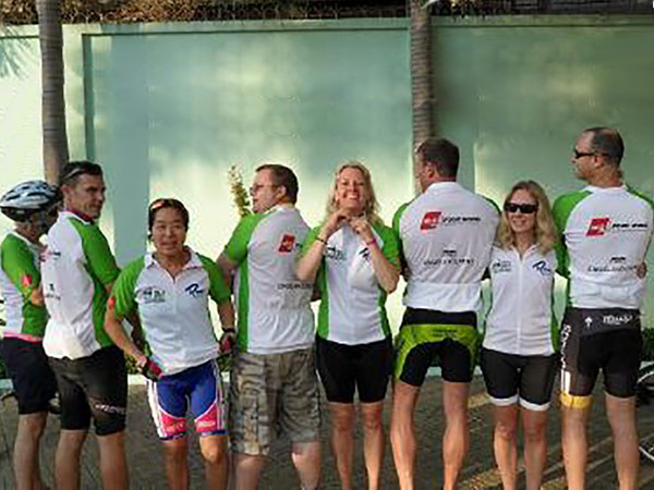 AGS Four Winds Hong-Kong rides for charity