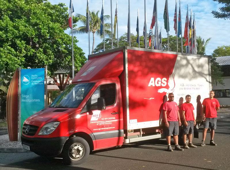 Equipe d'AGS Noumea
