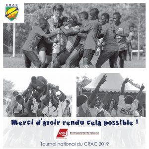 Tournoi national rugby CRAC Côte d'Ivoire
